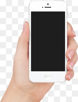 Mobile In Hand PNG - 42347
