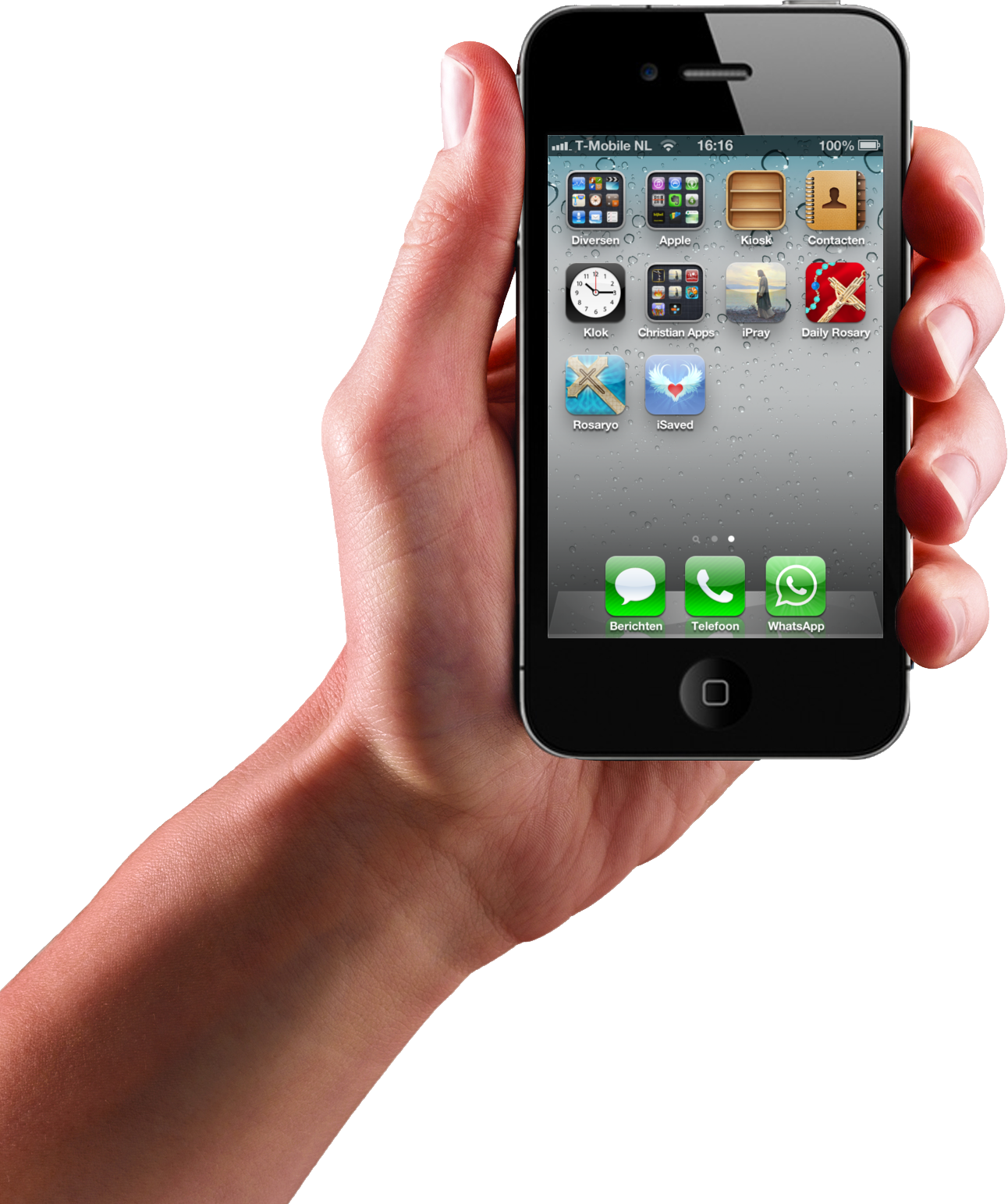 Mobile In Hand PNG - 42355