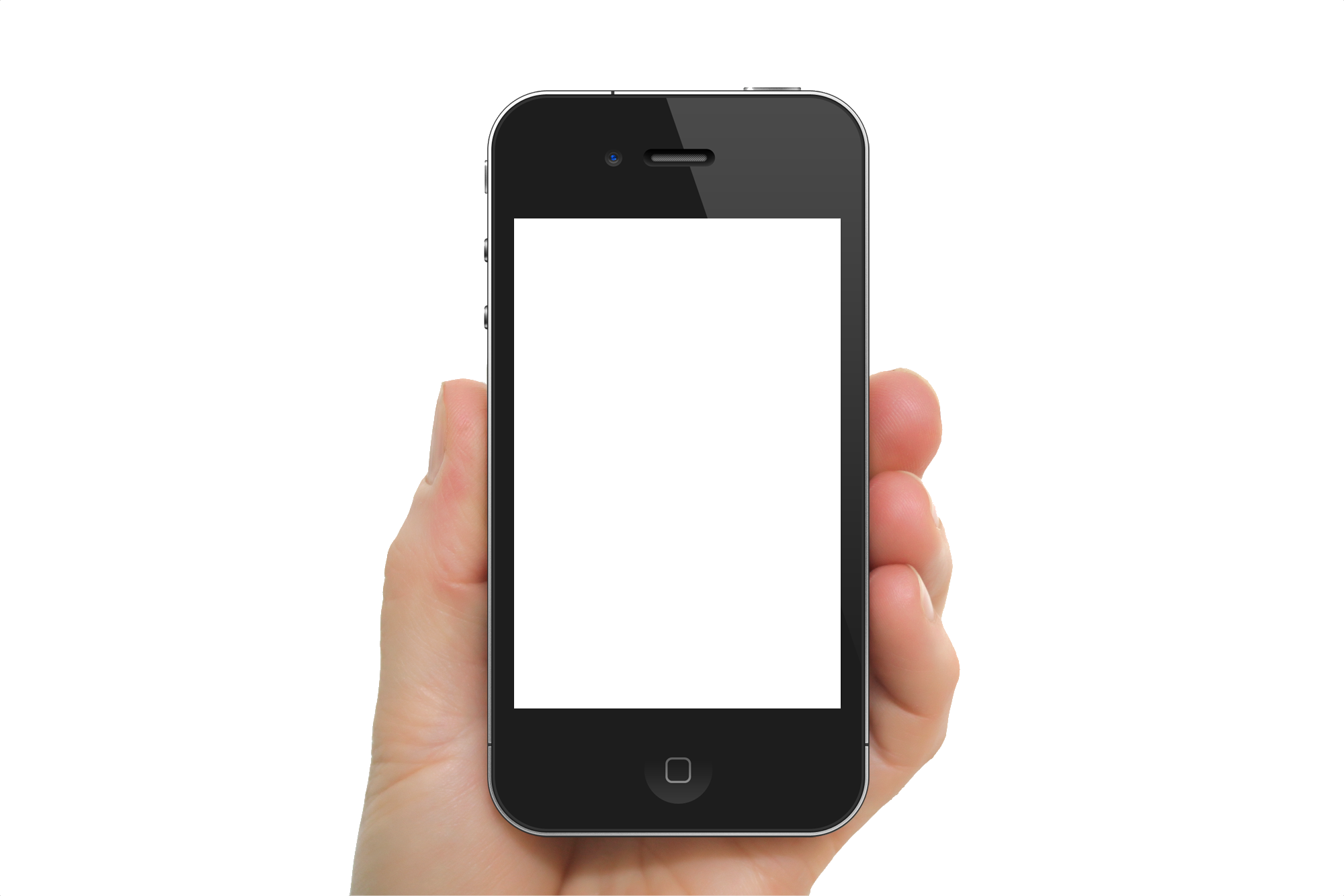Mobile In Hand PNG - 42342