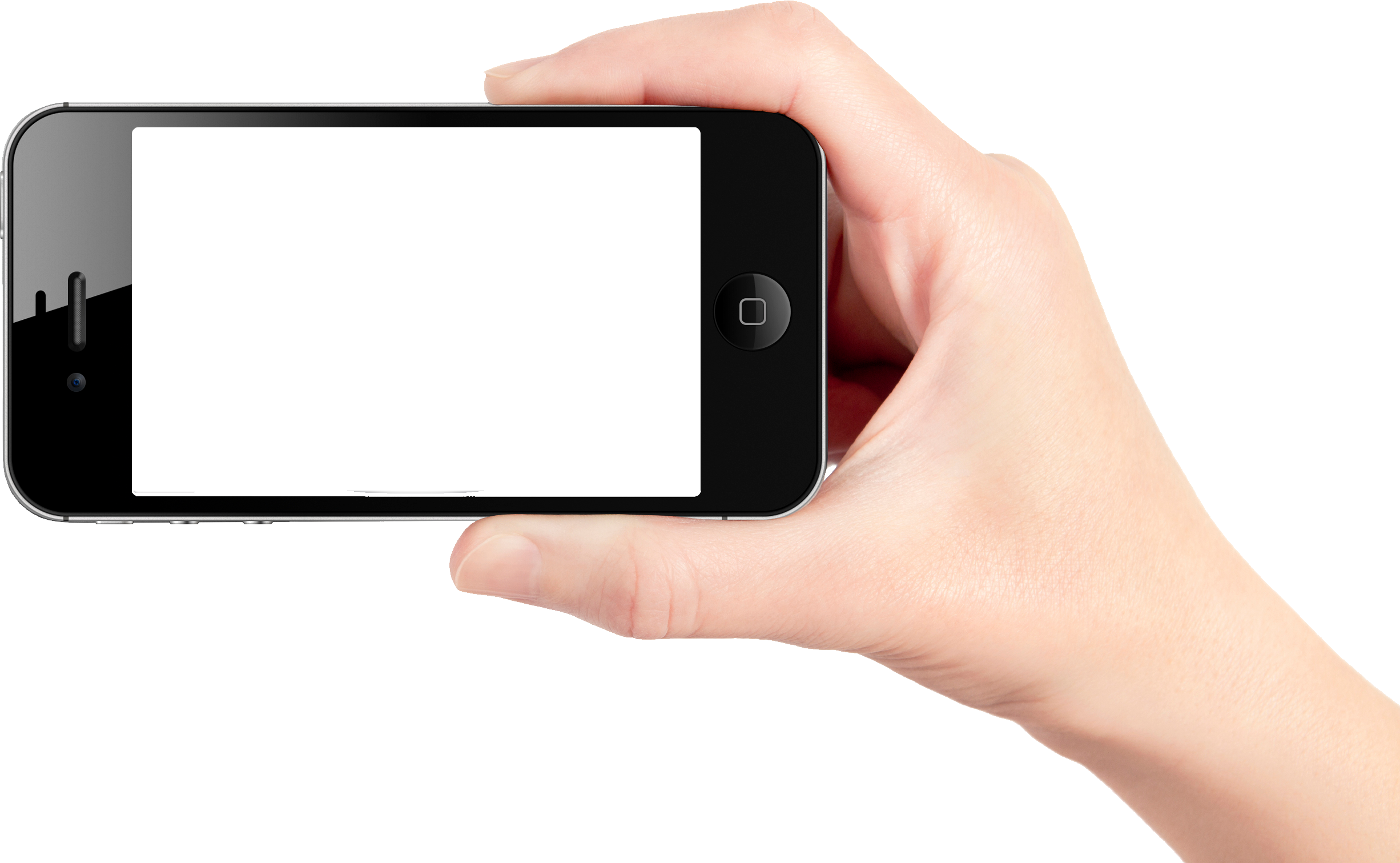 Mobile In Hand PNG - 42343