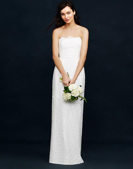 Minimalist Wedding Dress Style - Modern Bride PNG