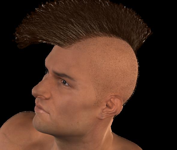 Mohawk Hair PNG - 42294