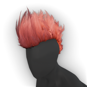 Tell your friend to dress with mohawk and colorful clothes in the game (you  of course have done that step already!) - Mohawk Hair PNG