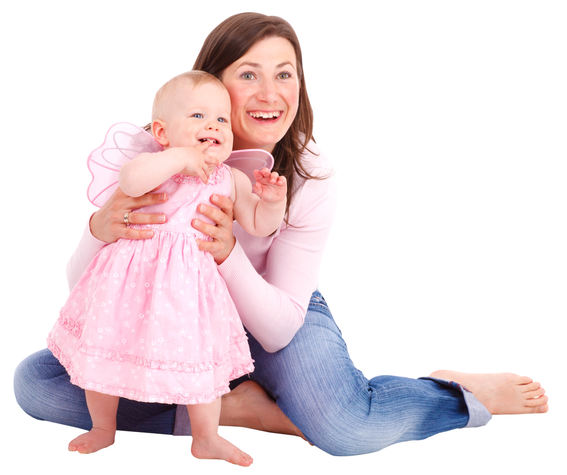 Mom And Baby PNG-PlusPNG.com-