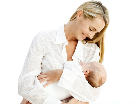 Breast feeding gives a specia