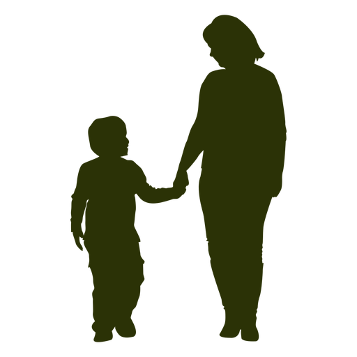Mom And Son PNG