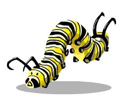 Caterpillar PNG - 1786