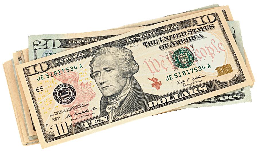 Money Bills PNG - 145918