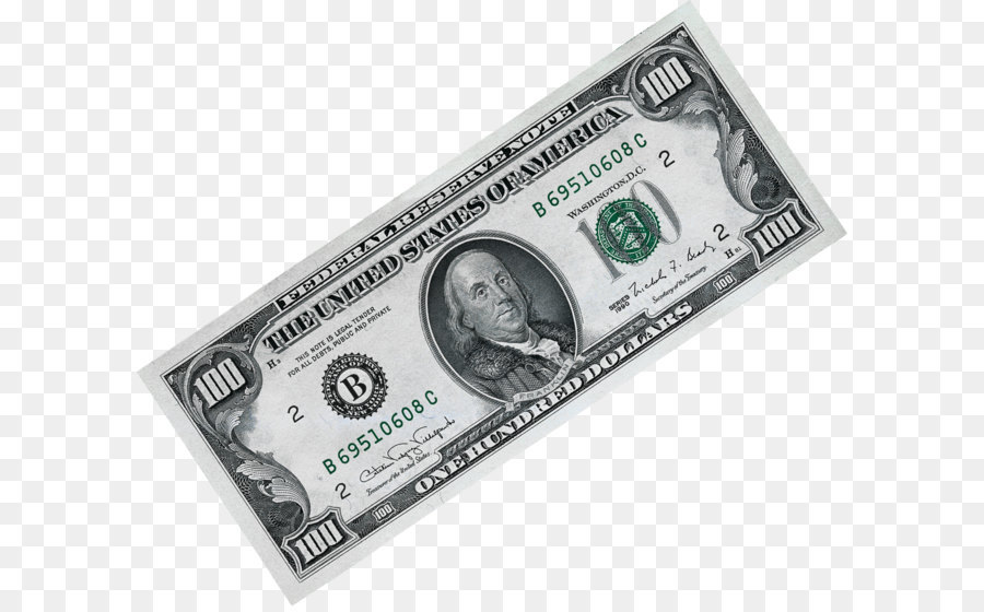 United States Dollar Money United States One Hundred-dollar Bill - Money Png  Image - Money Bills PNG