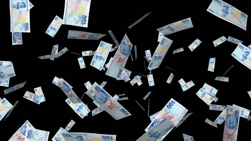 . PlusPng.com Channel - Exploding Banknotes For Your Projects About Money As Intro,  Opening, Reveal, Transition, Background. PlusPng.com Full HD PNG With Transparent  Back. - Money HD PNG