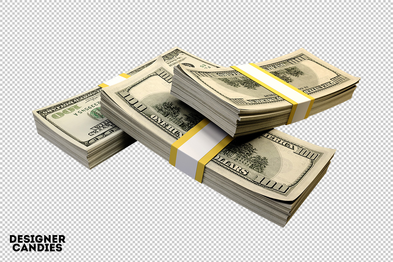 Money Bands - Money HD PNG