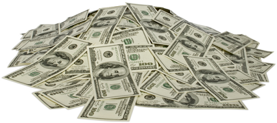 Money dollars PNG image