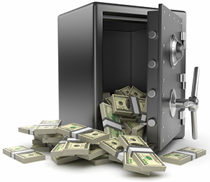 10. Keep cash chest along the Southern side of your home so that it opens  towards the North. - Money Vault PNG