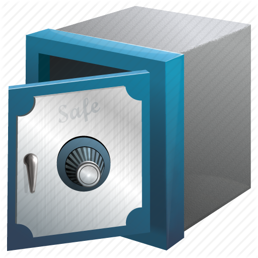 bank, lock, money, safe, secure, security, storage, store, - Money Vault PNG