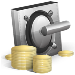 cash, lock, money, safe, vault, yuan icon. Download PNG - Money Vault PNG