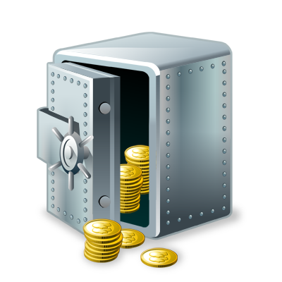 keep, money, safe, vault icon. Download PNG - Money Vault PNG