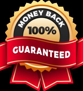 100 Money Back Guarantee Logo