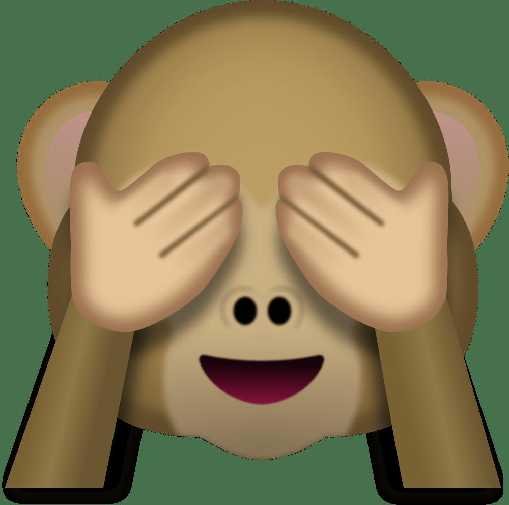Monkey Face Emoji - Emoji PNG