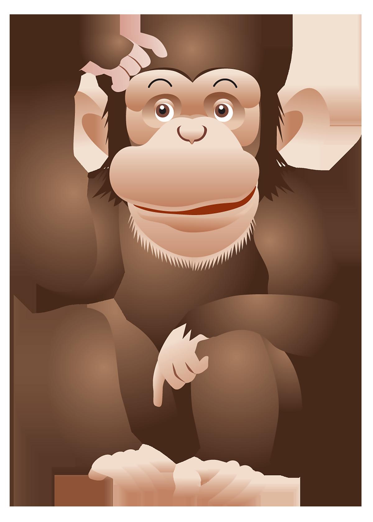 Monkey PNG HD  - 121655