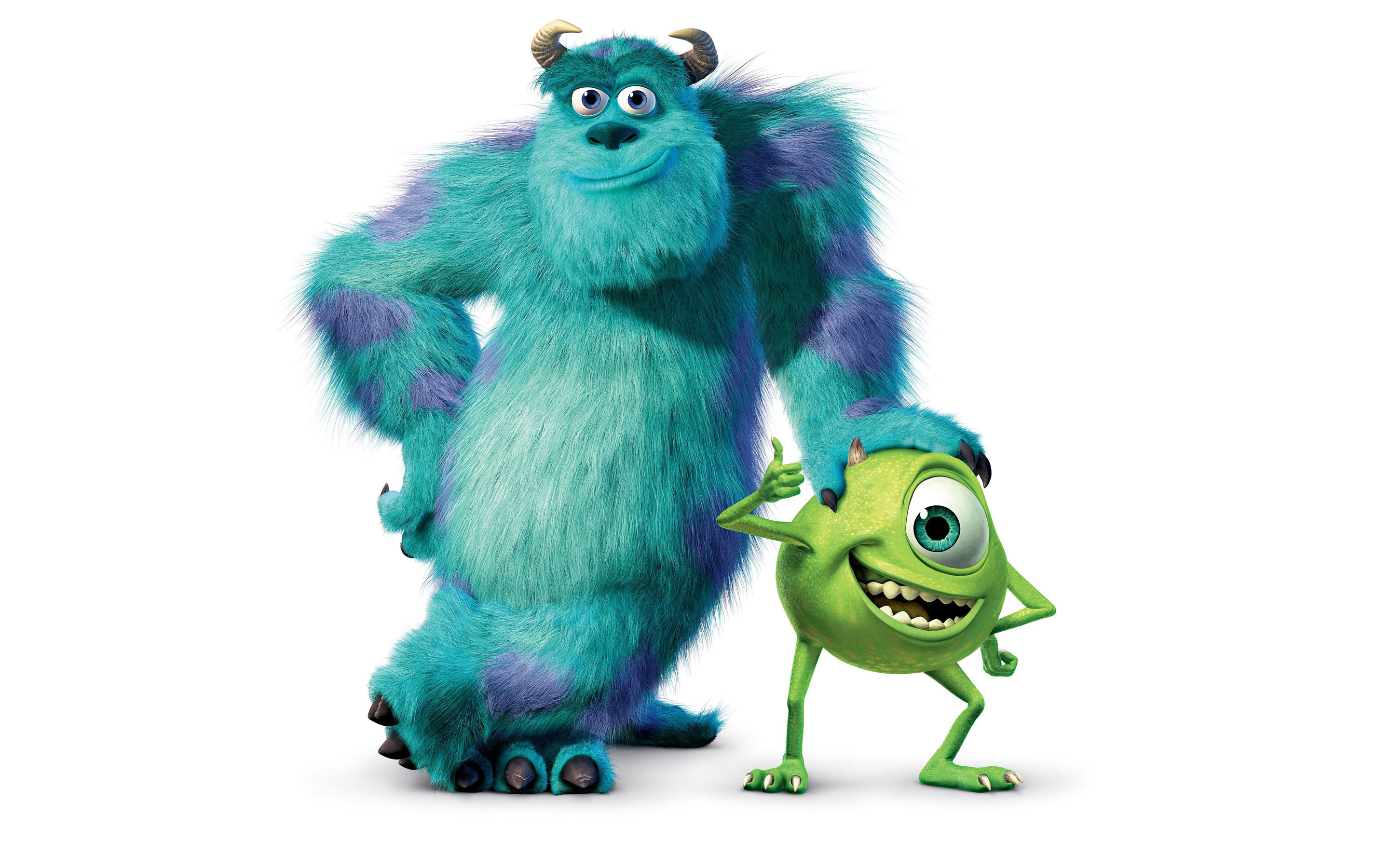 . PlusPng.com 2560x1600 Monsters, Inc. HD Wallpaper 2880x1800 - Monsters Inc Characters PNG