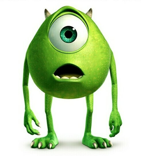 Mike Wasowski untitled - Monsters Inc Characters PNG