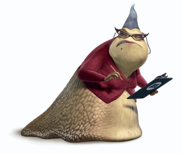 Roz.png - Monsters Inc Characters PNG
