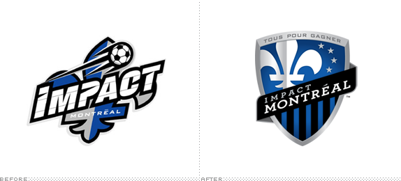 Montreal Impact Logo, Before and After - Montreal Impact PNG