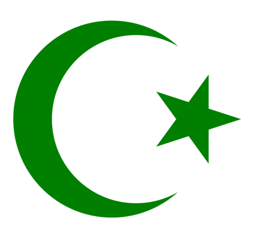 Islam wallpaper called Star and crescent Moon - Moon And Star PNG HD