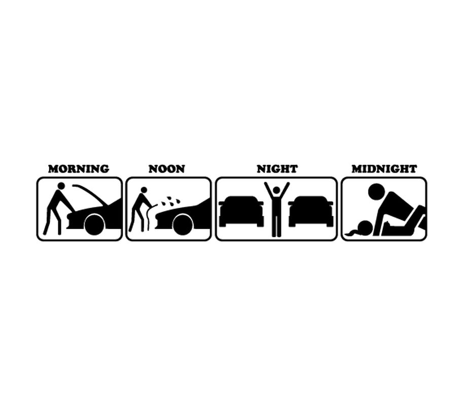 Morning Noon Night Midnight Sweat-shirt - Morning Noon And Night PNG