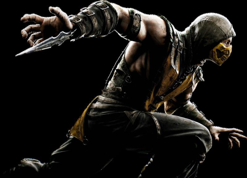 Mortal kombat x render by ashish913 by ashish913-d7l0v9p.png - Mortal Kombat X PNG