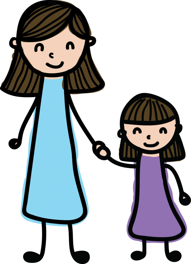 Mother And Daughter PNG - 134820