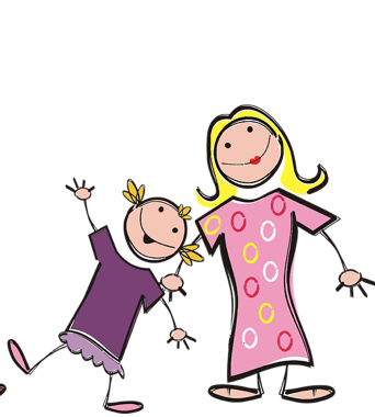 Mother And Daughter PNG - 134823