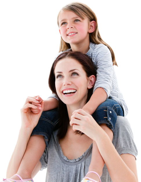Mother And Daughter PNG - 134819