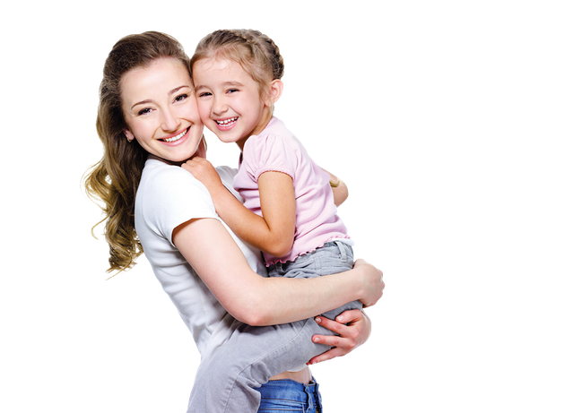 Mother And Daughter PNG - 134816