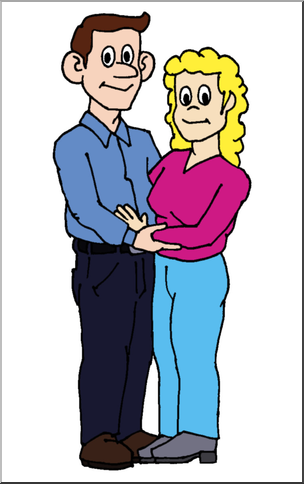 Clip Art: Family: Mother u0026 Father Color I abcteach pluspng.com - preview 1 - Mother And Father PNG HD