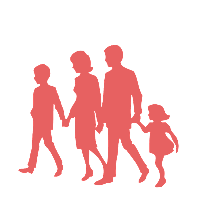 Family, Father, Mother, Husband, Wife, Son, Daughter - Mother And Father PNG HD