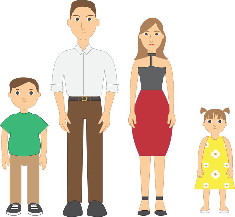 Family, Vector, Father, Mother, Children, Union - Mother And Father PNG HD