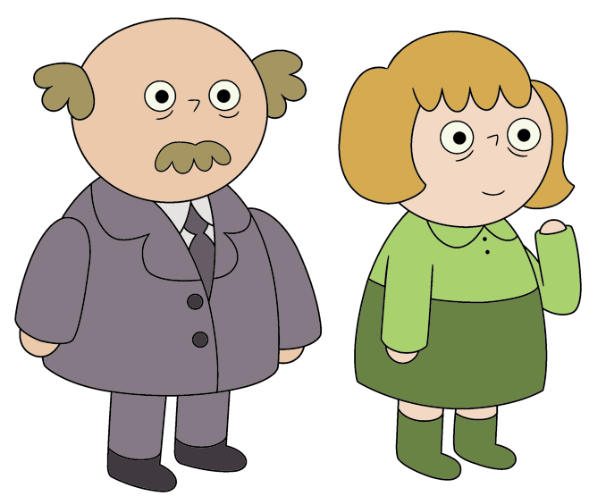 Percyu0027s Father And Mother.png - Mother And Father PNG HD