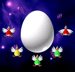 Chicken Invaders 2 The Mother-Hen Ship 3 Shield.png - Mother Hen PNG