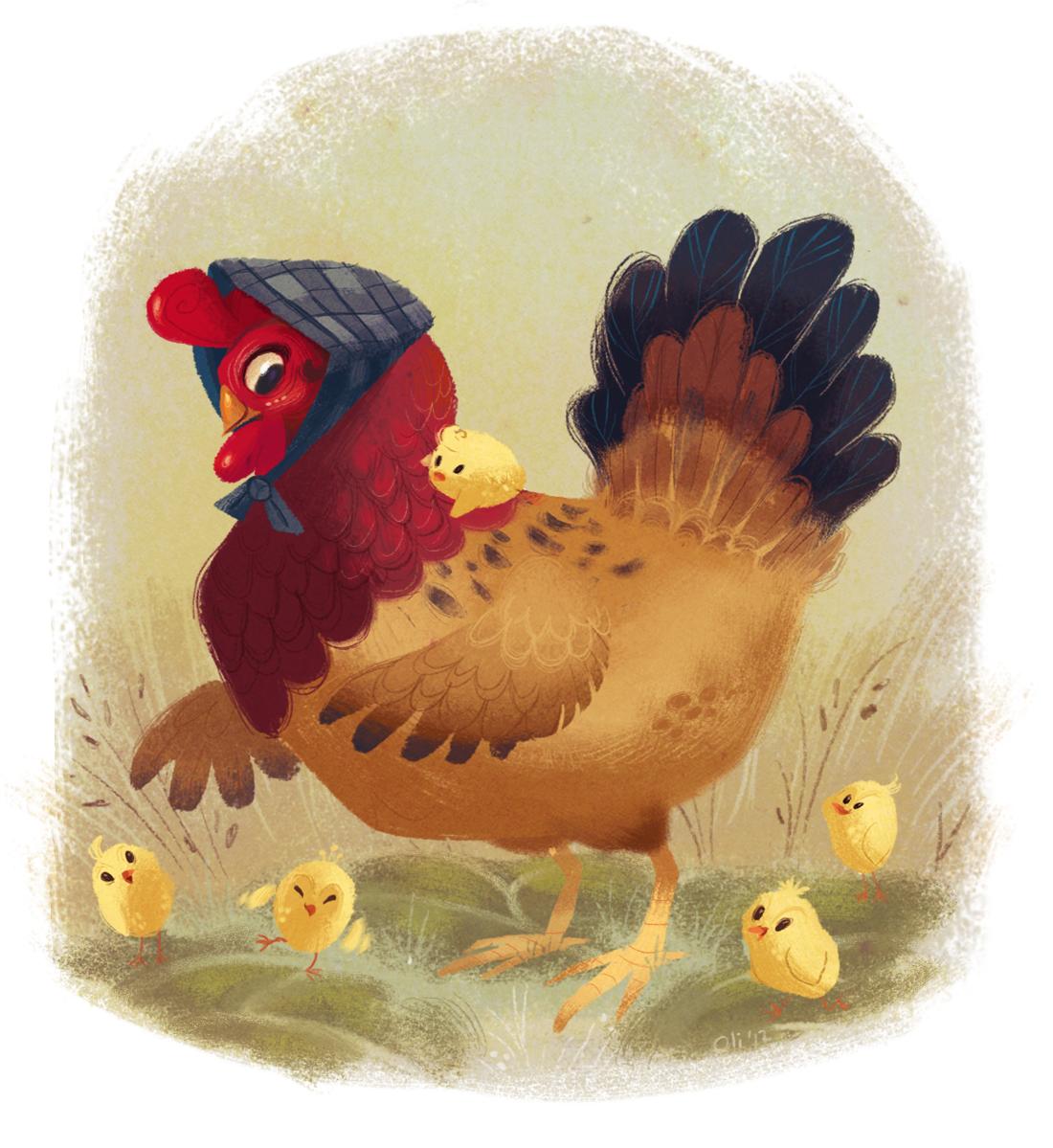 Image Gallery: Mother Hen Art - Mother Hen PNG
