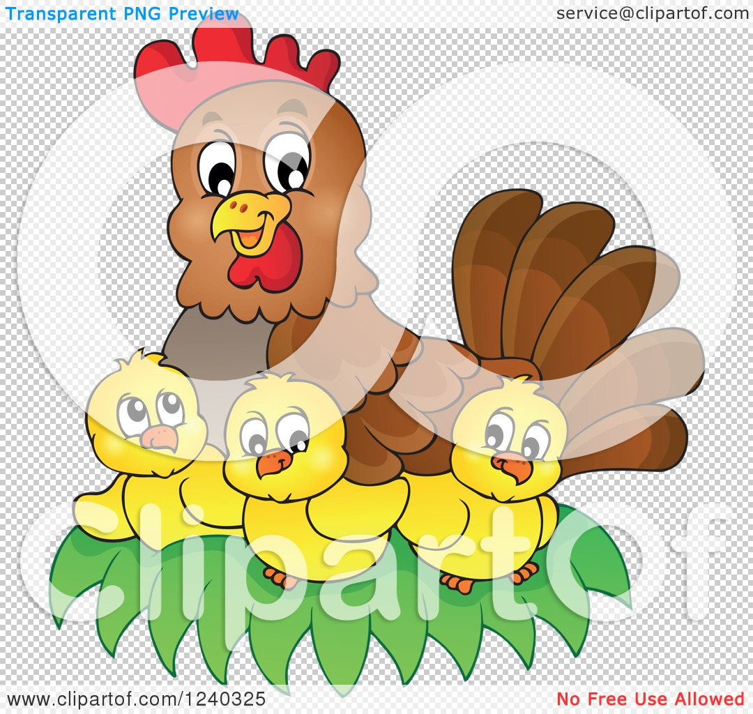 PNG File Has A PlusPng.com  - Mother Hen PNG