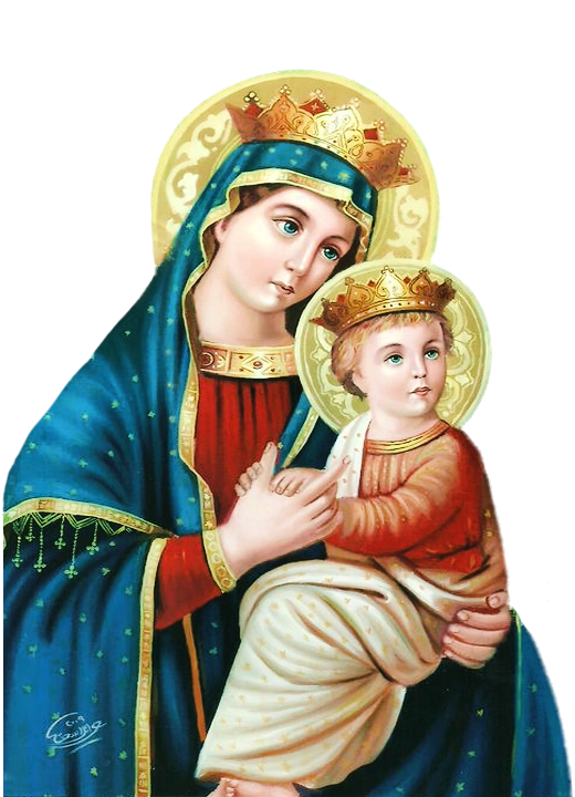 Mother Of Jesus PNG-PlusPNG.com-520 - Mother Of Jesus PNG