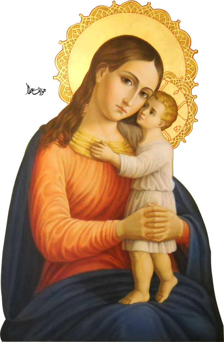 joeatta78 2 1 Icon-mary-and-baby-jesus- by joeatta78 - Mother Of Jesus PNG