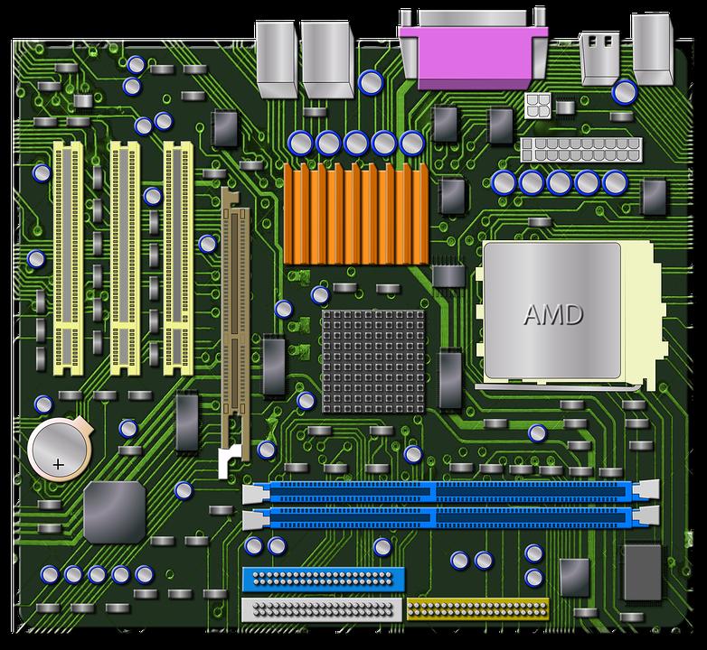 Motherboard PNG - 4063