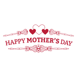Mothers day retro badge - Mothers Day HD PNG