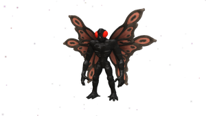 Dark Injection Mothman by Cryptdidical - Mothman PNG