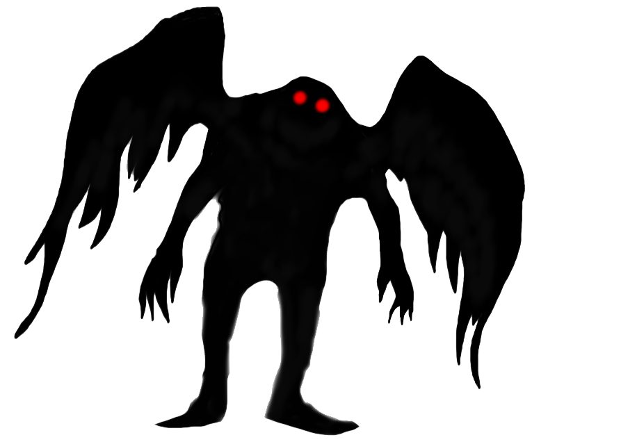 Moth Man PNG File - Mothman PNG