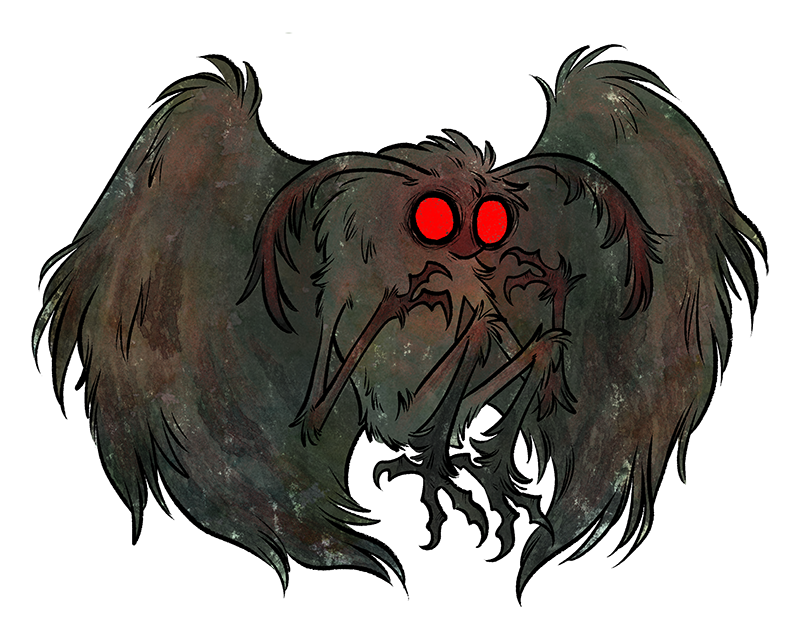 Moth Man PNG Photos - Mothman PNG