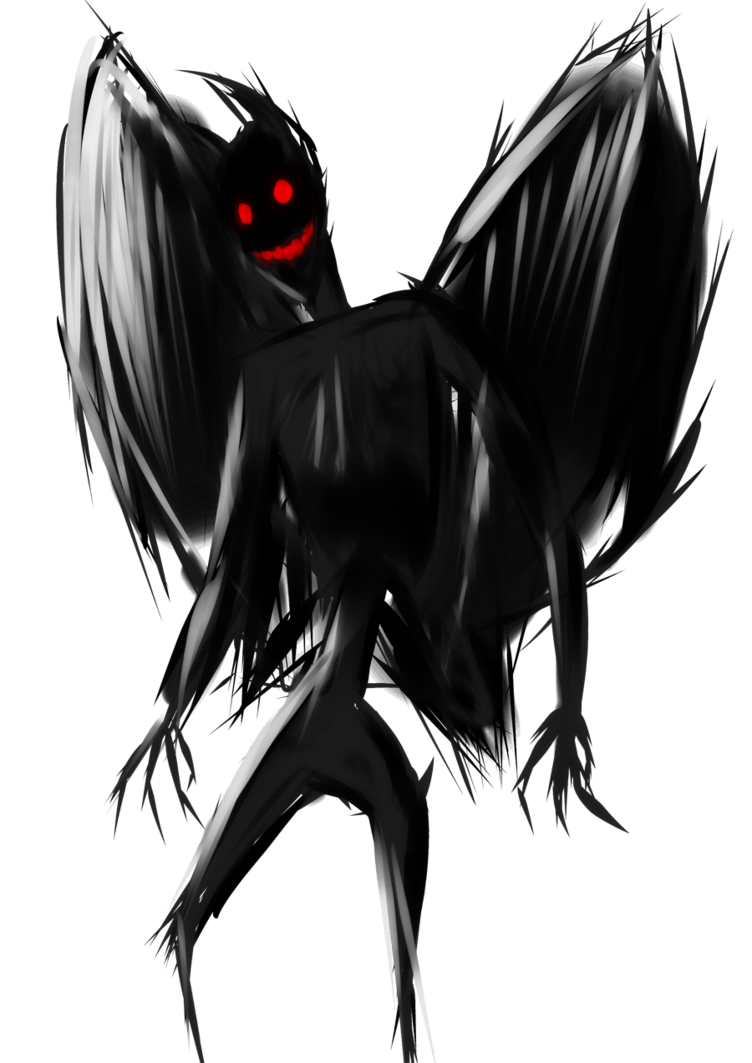 Mothman by ScaredyAsh006 PlusPng.com  - Mothman PNG