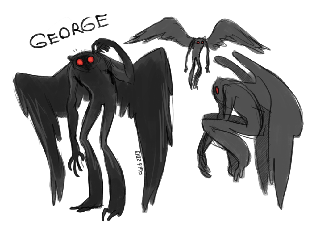 Mothman X3 in Chicago - Mothman PNG